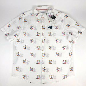 Tommy Bahama NFL Carolina Panthers Hawaiian Shirt